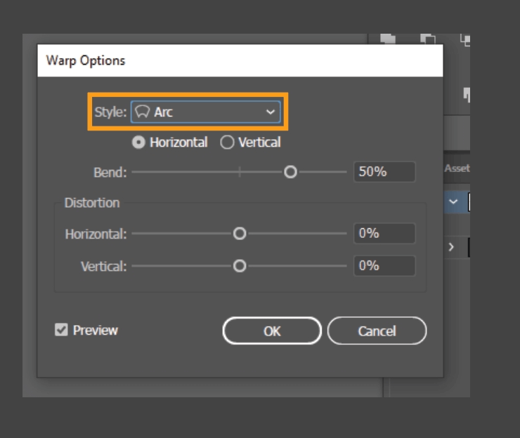 How to Curve Text in Illustrator 5
