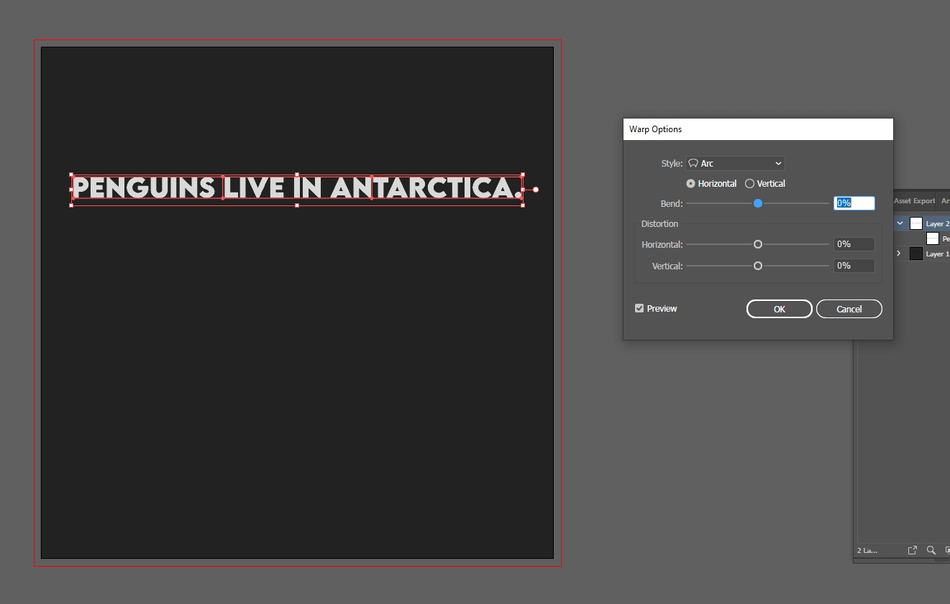 How to Curve Text in Illustrator 8