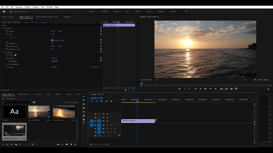 How to Cut a Clip in Adobe Premiere Pro 10