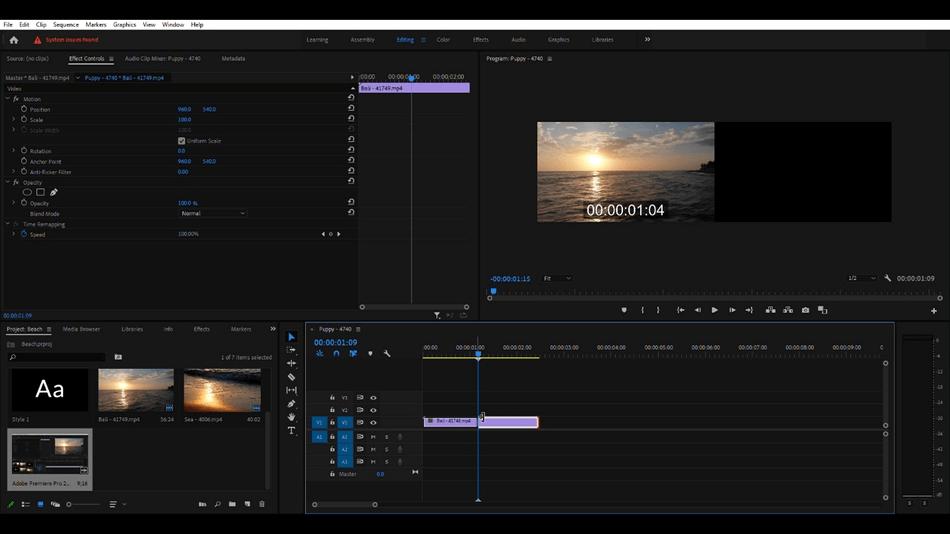How to Cut a Clip in Adobe Premiere Pro 11