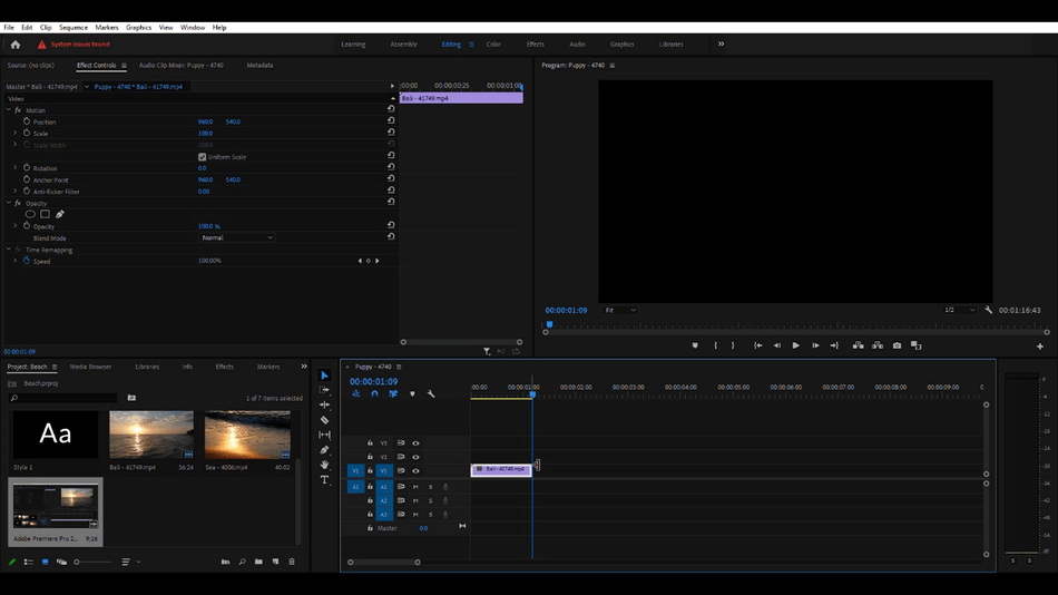How to Cut a Clip in Adobe Premiere Pro 12