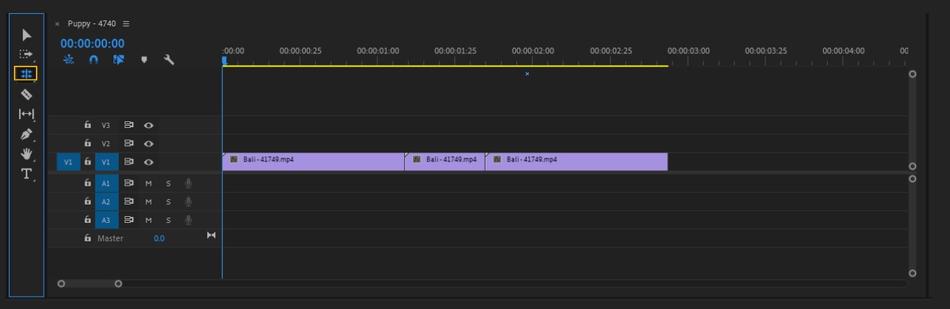 How to Cut a Clip in Adobe Premiere Pro 15