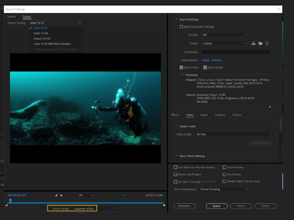 How to Export Adobe Premiere Pro File to mp4 Format 10