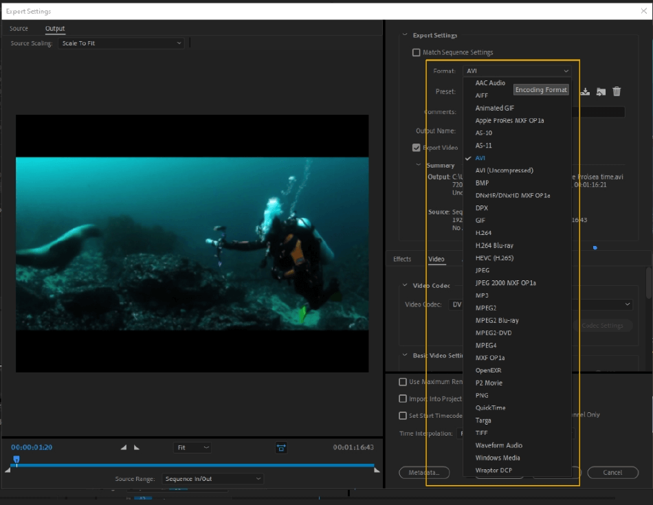 How to Export Adobe Premiere Pro File to mp4 Format 12