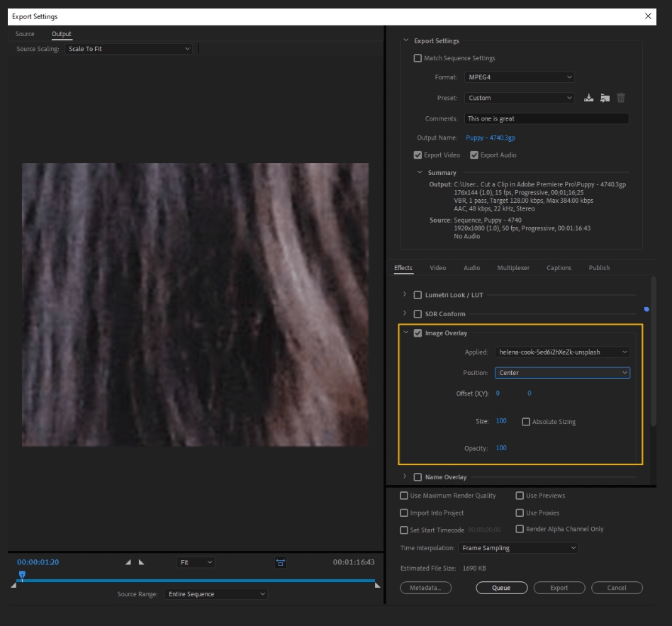 How to Export Adobe Premiere Pro File to mp4 Format 22