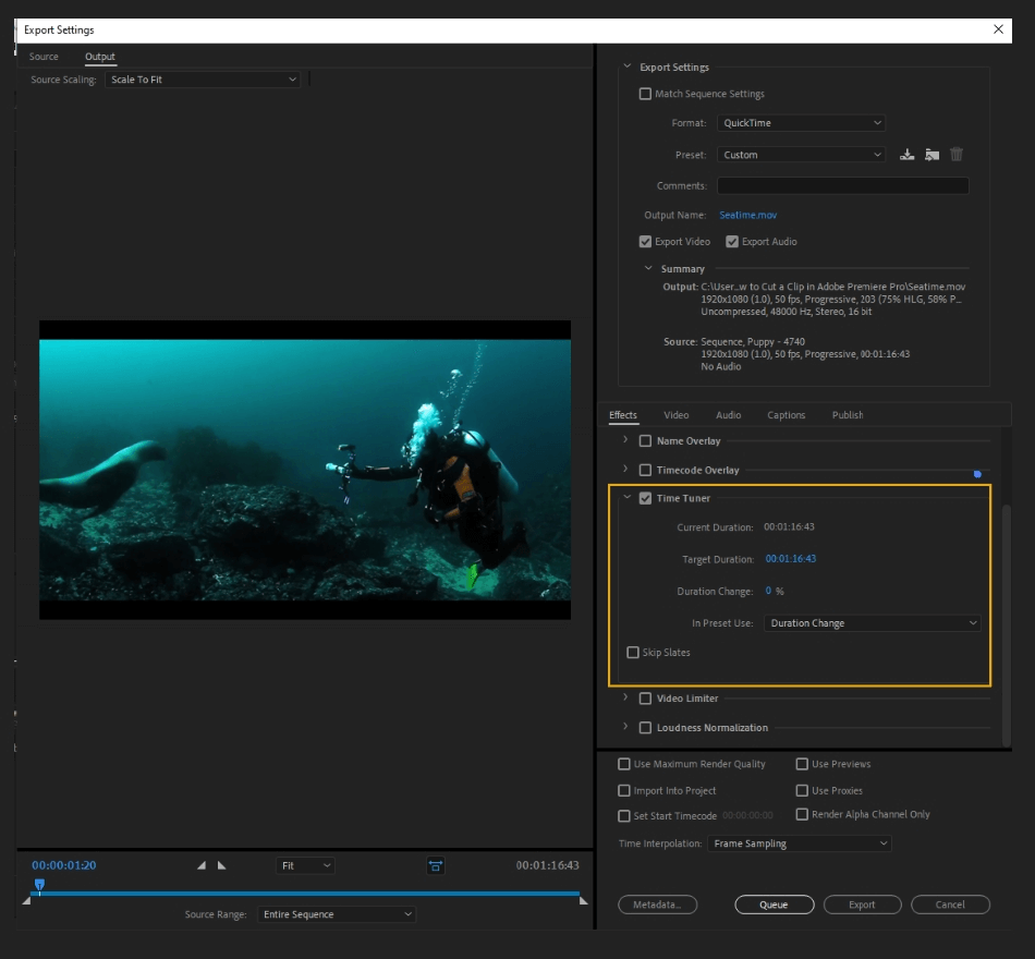 How to Export Adobe Premiere Pro File to mp4 Format 25
