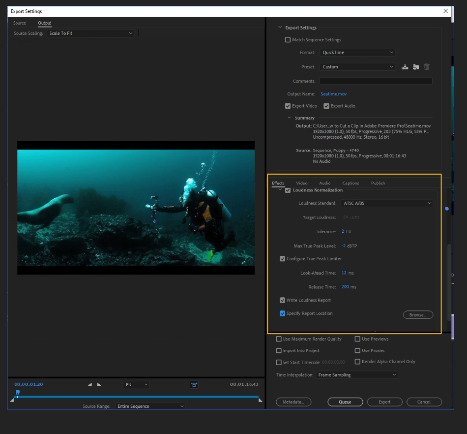 How to Export Adobe Premiere Pro File to mp4 Format 27
