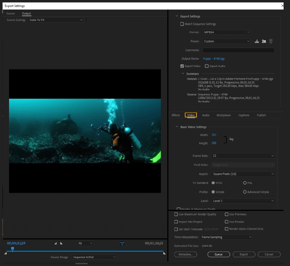How to Export Adobe Premiere Pro File to mp4 Format 28