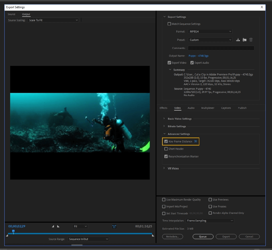 How to Export Adobe Premiere Pro File to mp4 Format 42