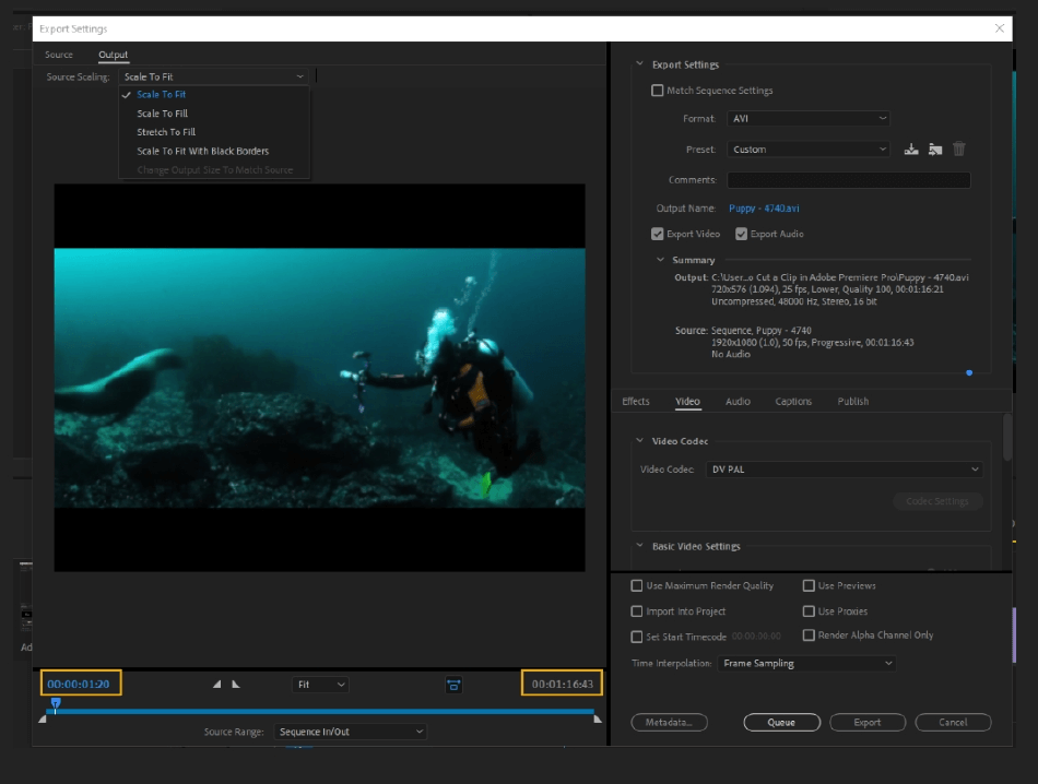 How to Export Adobe Premiere Pro File to mp4 Format 6