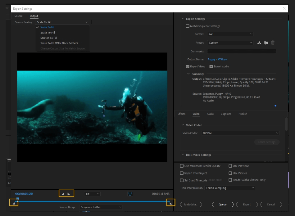How to Export Adobe Premiere Pro File to mp4 Format 7