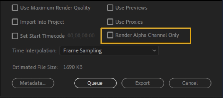 How to Export Adobe Premiere Pro File to mp4 Format 78