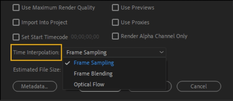 How to Export Adobe Premiere Pro File to mp4 Format 79