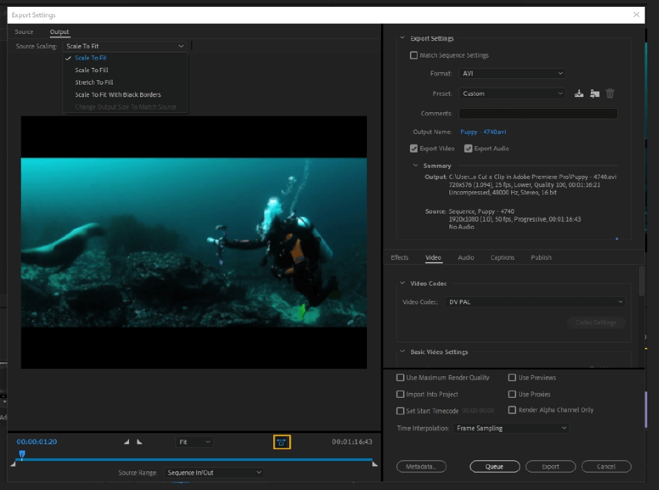 How to Export Adobe Premiere Pro File to mp4 Format 8