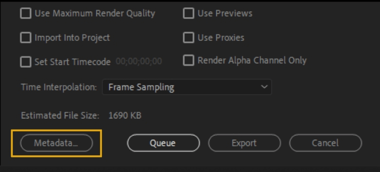 How to Export Adobe Premiere Pro File to mp4 Format 81