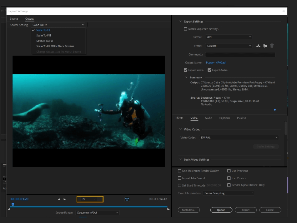 How to Export Adobe Premiere Pro File to mp4 Format 9