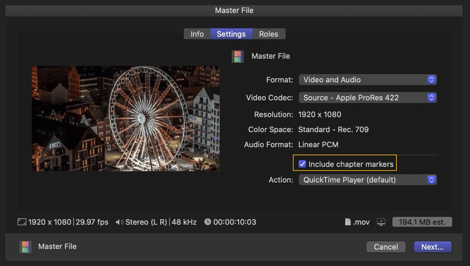 How to Export on Final Cut Pro 10