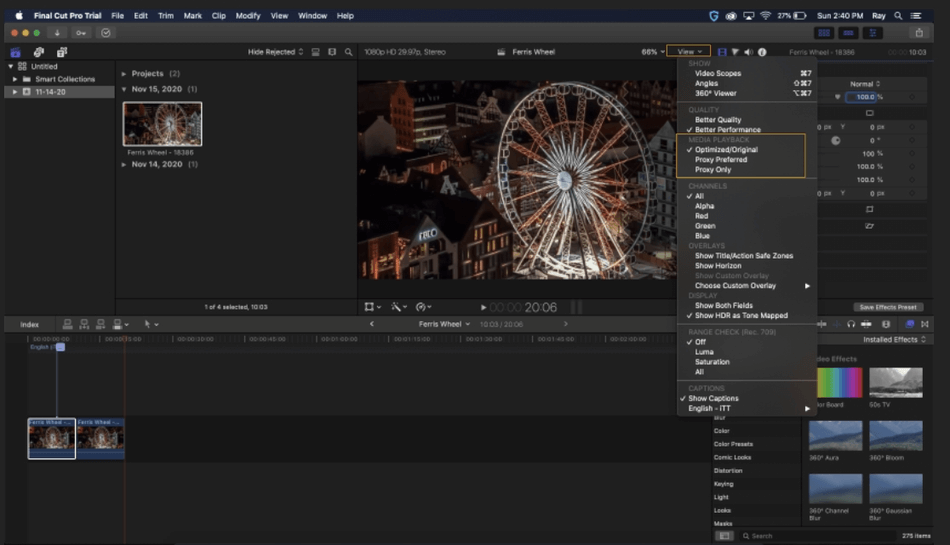 How to Export on Final Cut Pro 22
