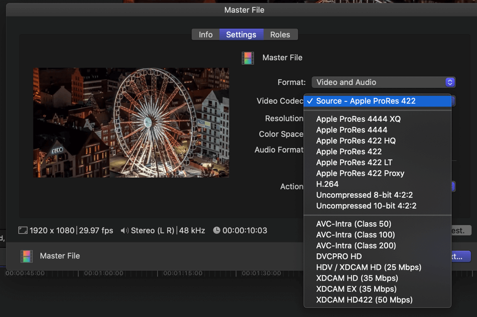 How to Export on Final Cut Pro 8