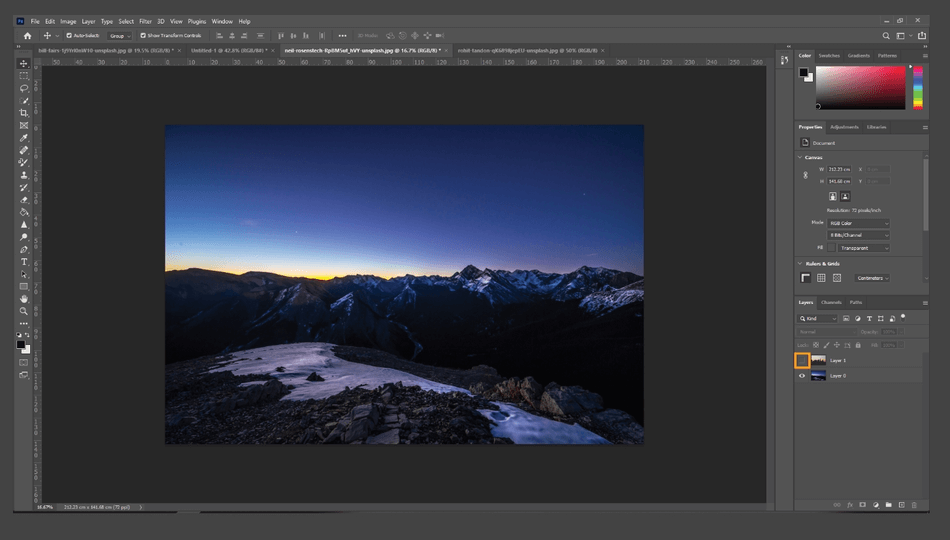 How to Flip an Image in Photoshop 11