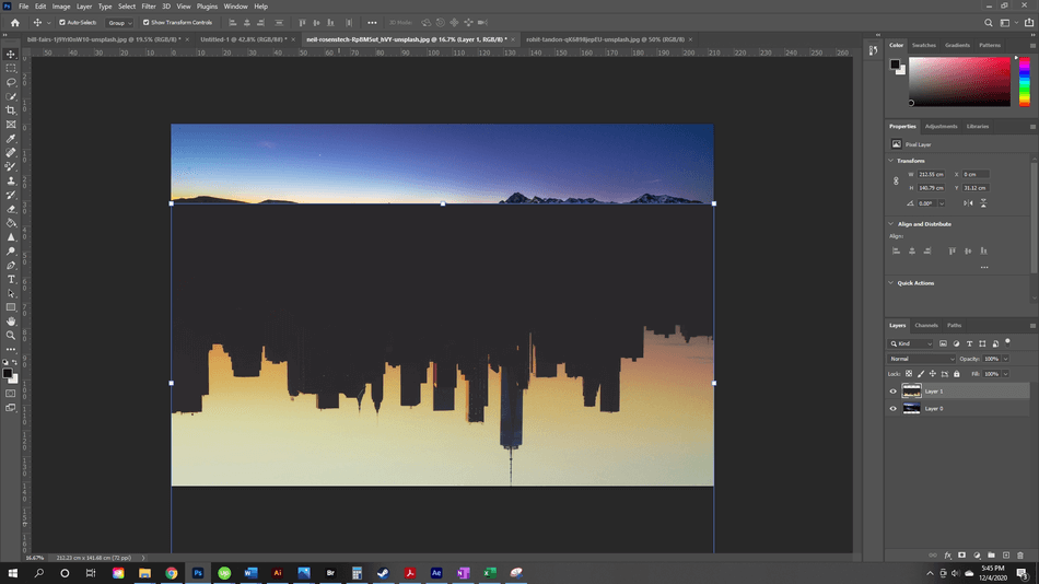 How to Flip an Image in Photoshop 13