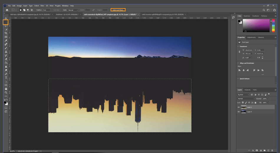 How to Flip an Image in Photoshop 14