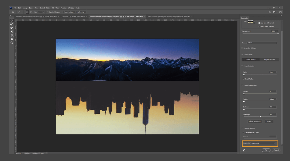 How to Flip an Image in Photoshop 15