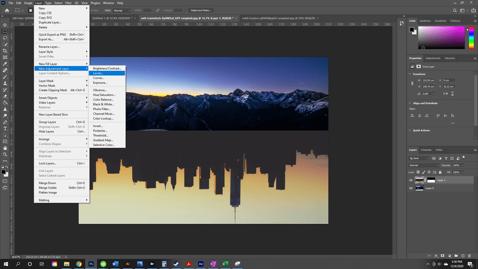 How to Flip an Image in Photoshop 16