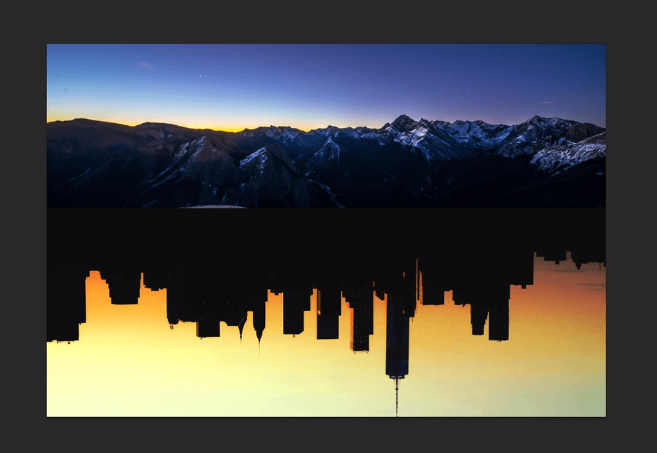 How to Flip an Image in Photoshop 19