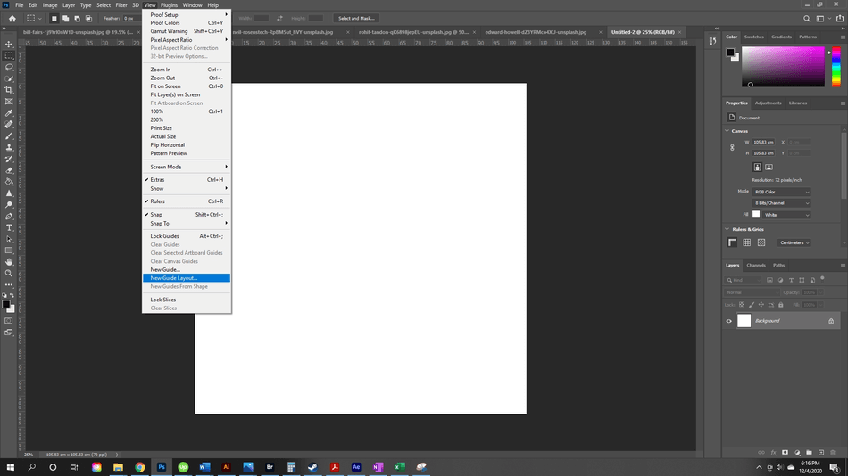 How to Flip an Image in Photoshop 23