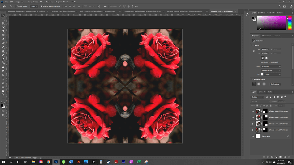 How to Flip an Image in Photoshop 36