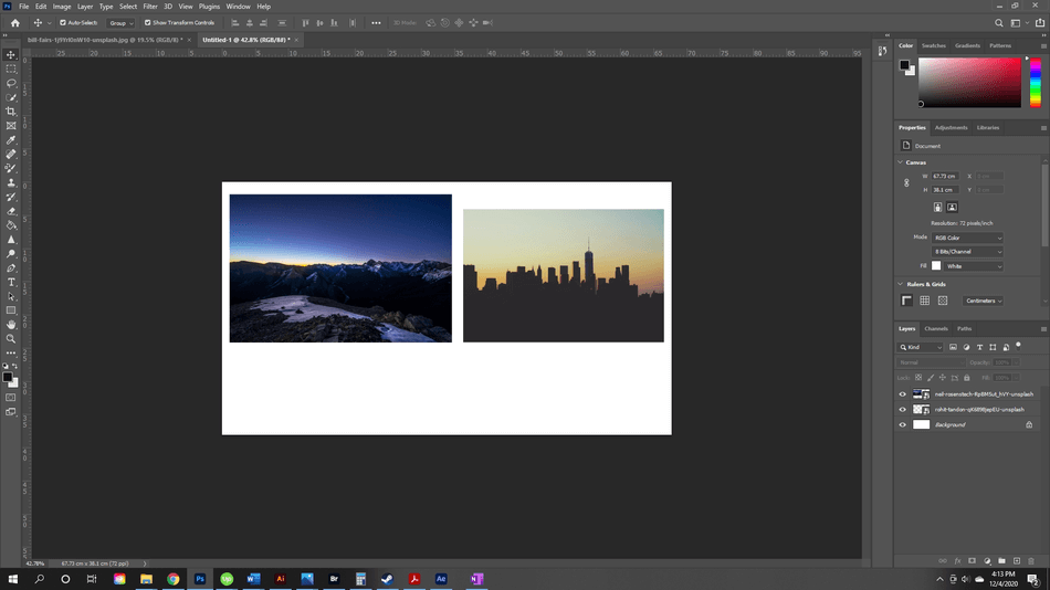 How to Flip an Image in Photoshop 9