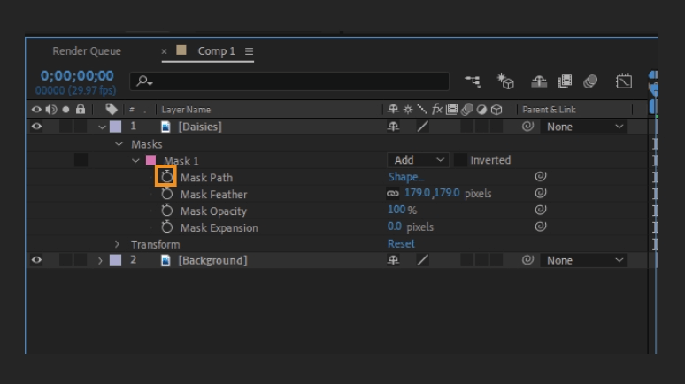 How to Mask in Adobe After Effects 23