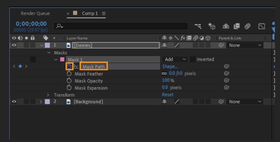 How to Mask in Adobe After Effects 24