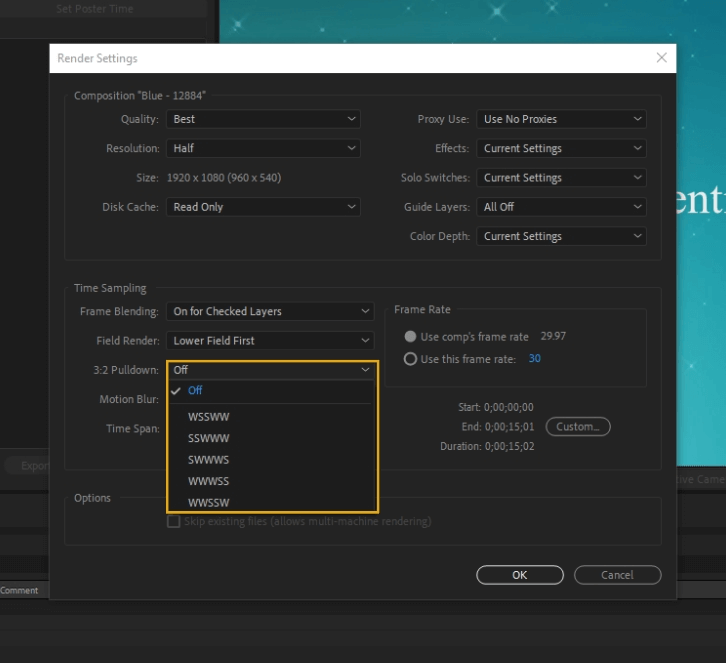 How to Render Export in Adobe After Effects 19