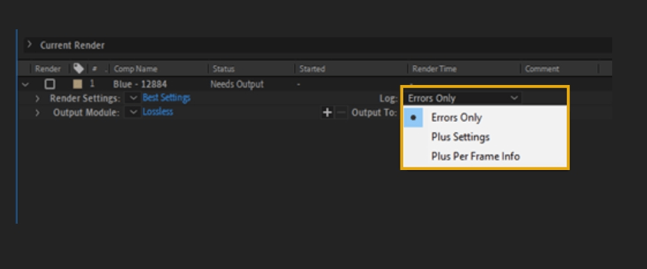 How to Render Export in Adobe After Effects 24