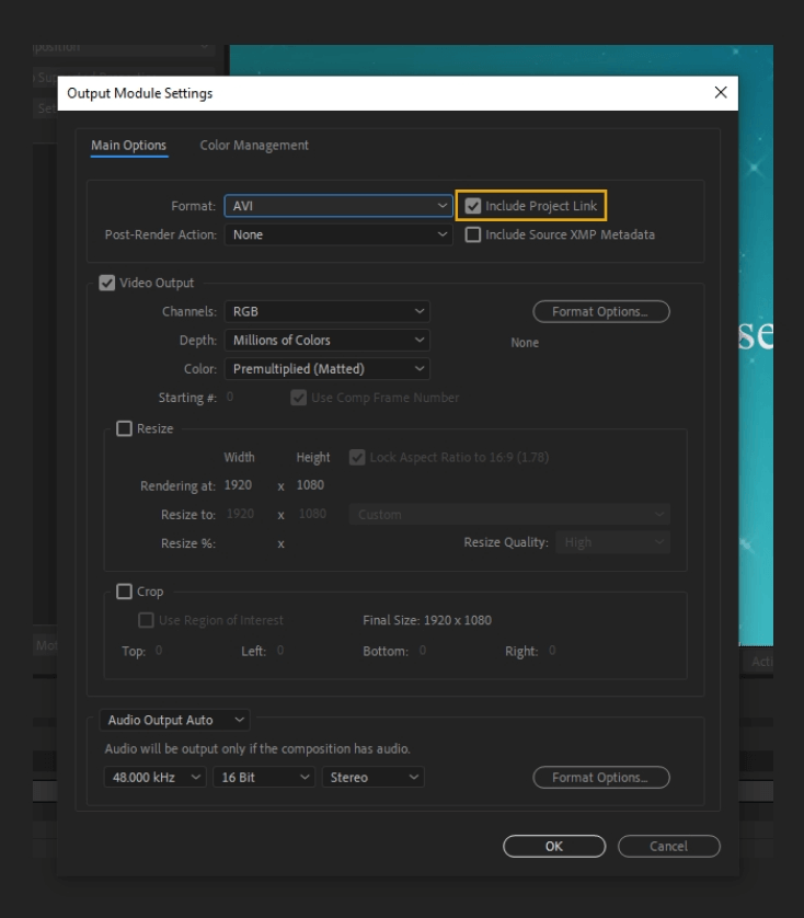 How to Render Export in Adobe After Effects 28