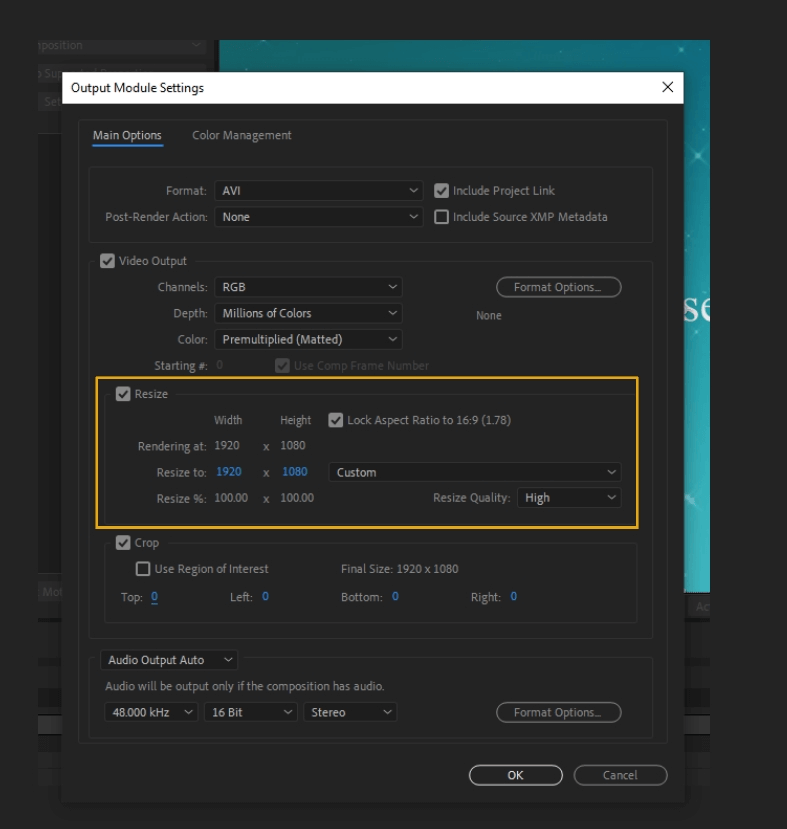 How to Render Export in Adobe After Effects 38