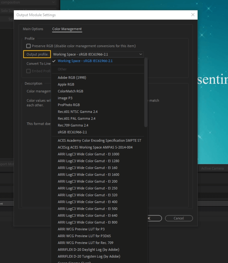 How to Render Export in Adobe After Effects 49
