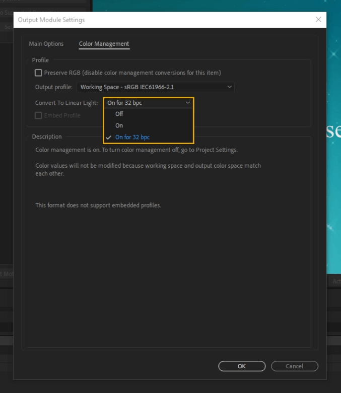 How to Render Export in Adobe After Effects 50