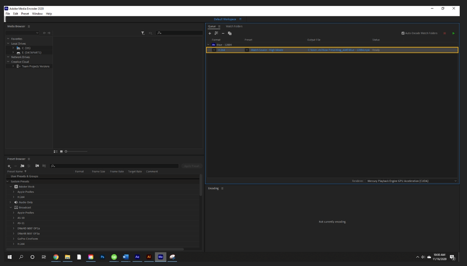 How to Render Export in Adobe After Effects 56