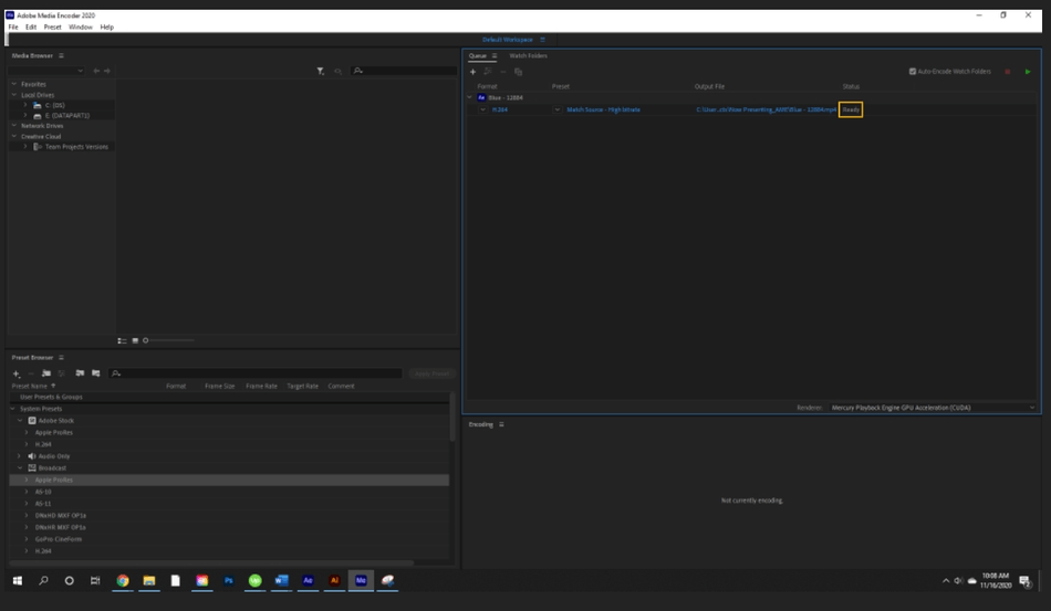 How to Render Export in Adobe After Effects 60