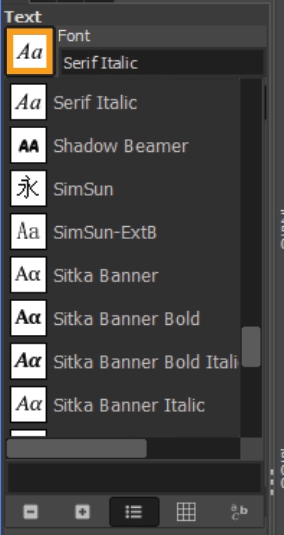How to add fonts to GIMP 16