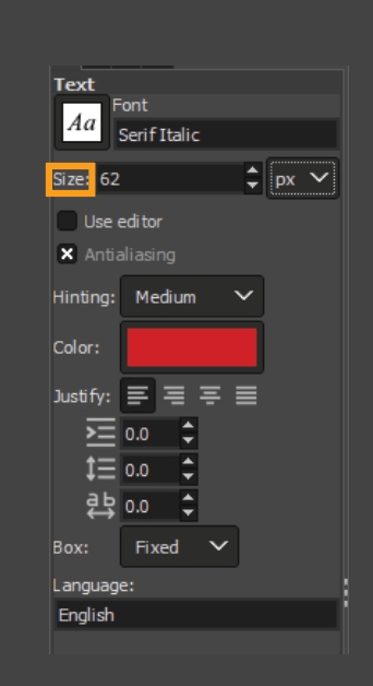How to add fonts to GIMP 17