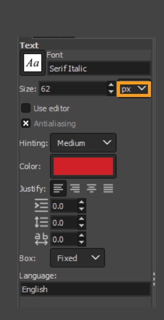 How to add fonts to GIMP 18