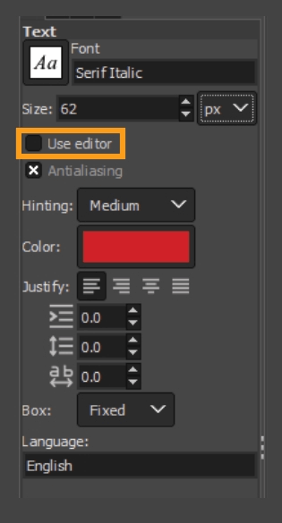 How to add fonts to GIMP 19