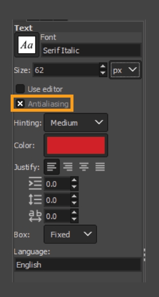 How to add fonts to GIMP 20
