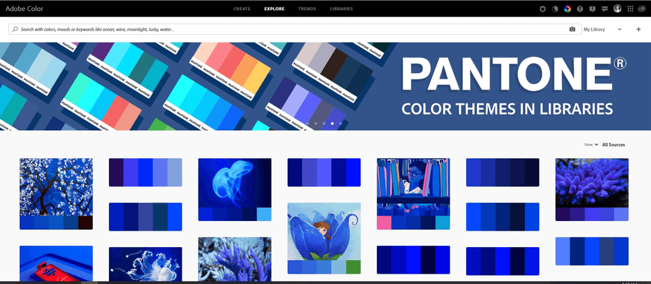 adobe photoshop color theme