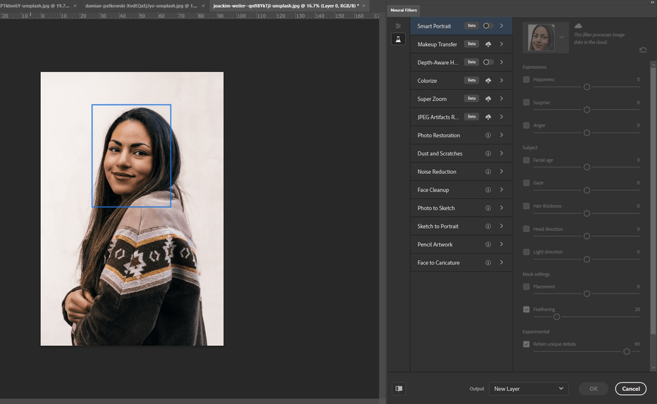 adobe photoshop filter image
