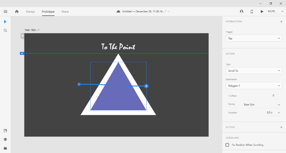 AdobeXD - to - the - point